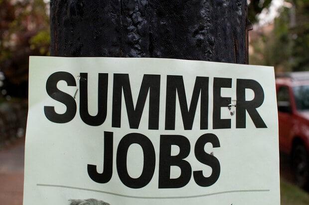 Applying for Summer Jobs