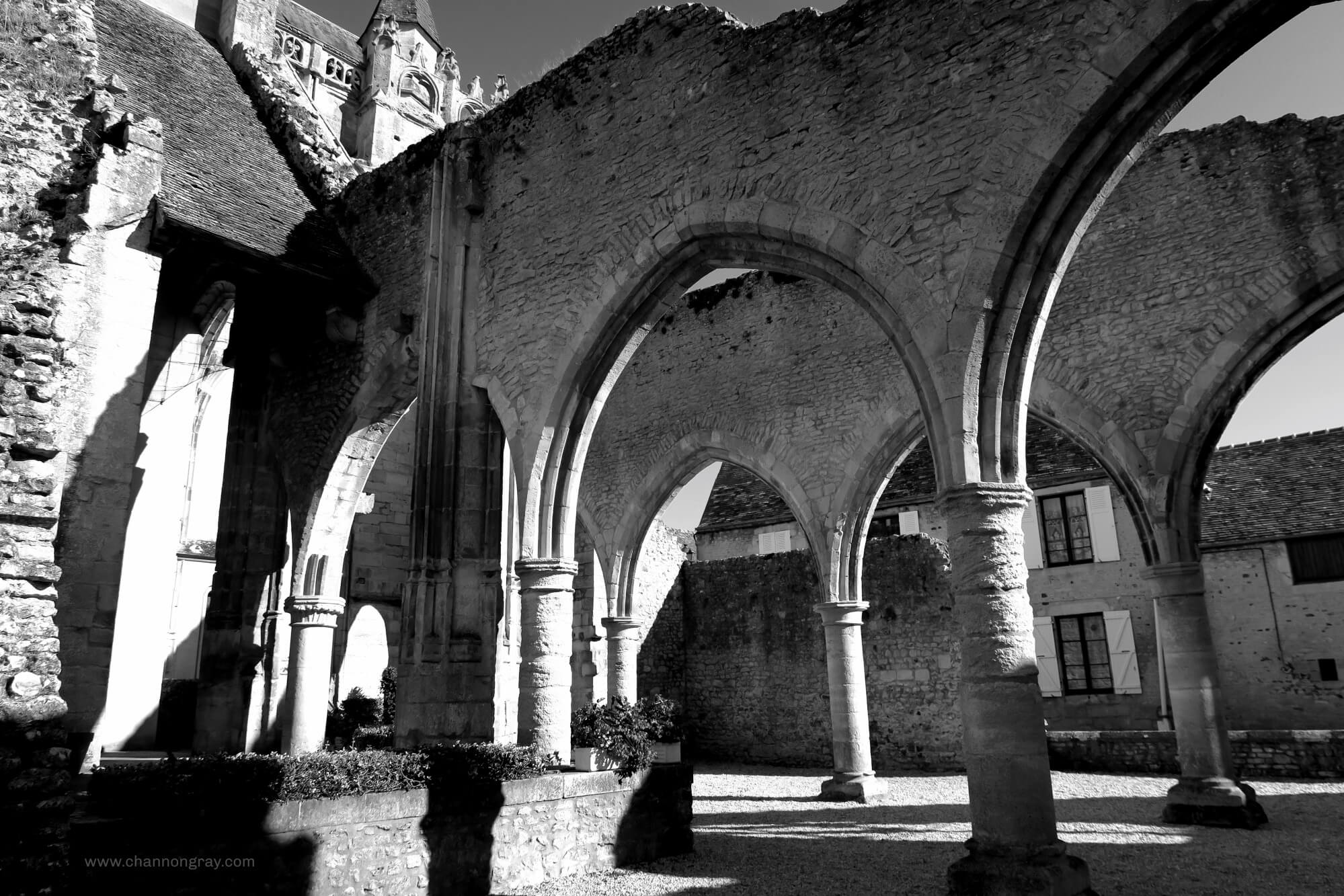 Church Ruins in Ecouche