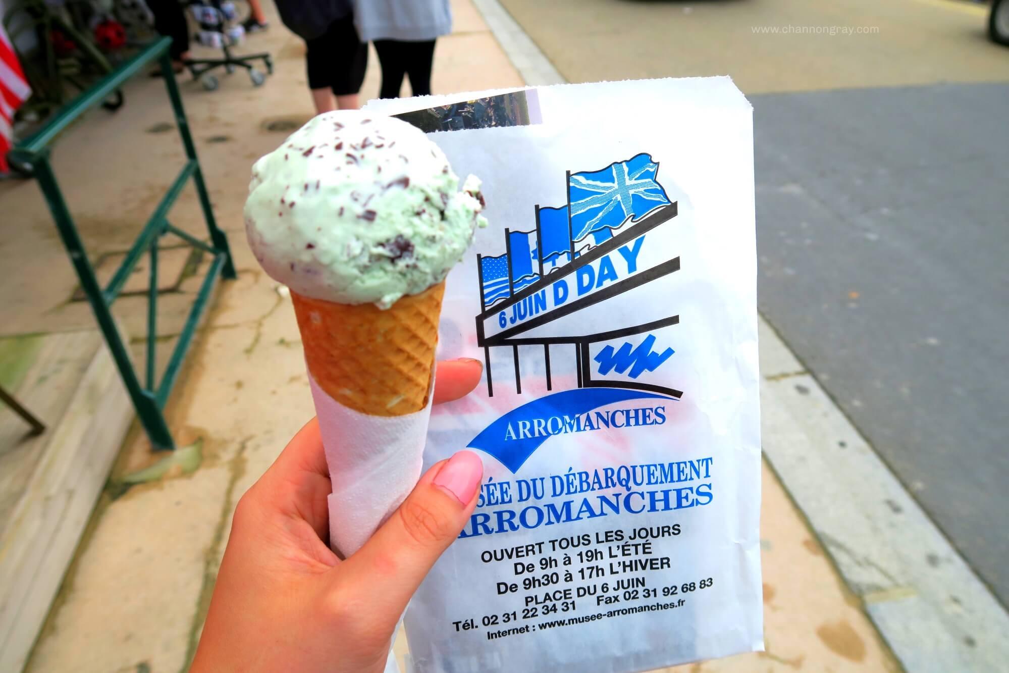 IceCreamMintandArromanches