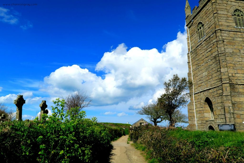 St Uny Church in Lelant, Cornwall