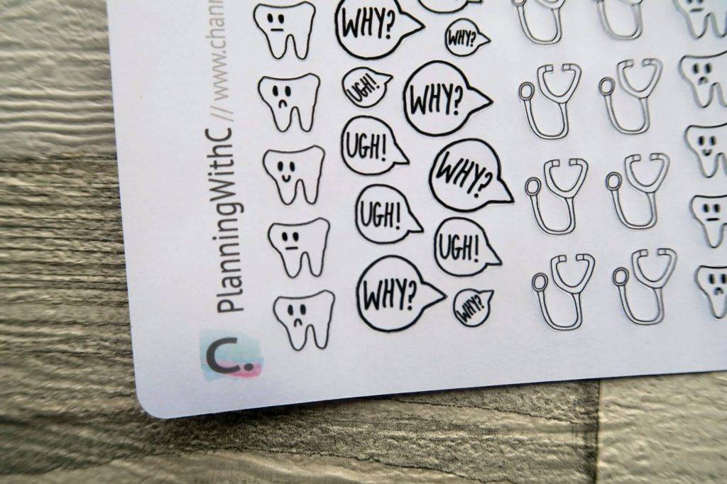 PlanningWithC Etsy Sticker Shop