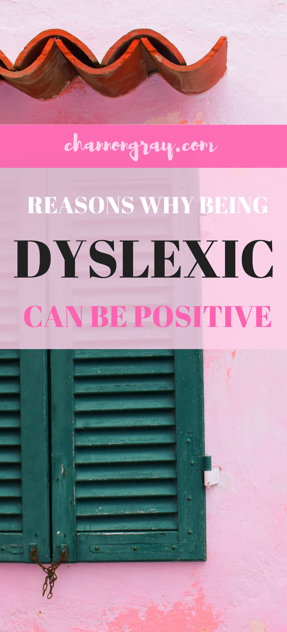 Dyslexia does not need to be a negative diagnosis for children, students or adults, but instead a positive for those at school, college, university or in the workplace. It makes you unique, creative and open minded. Celebrate your strengths. For your own mental health, being positive about learning difficulties is crucial // heythereChannon