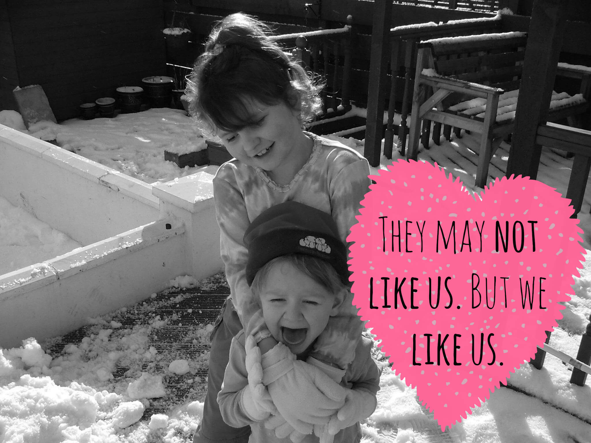 Quotes About Family Sticking Together: Sisters Are Like Thighs, They Stick Together.