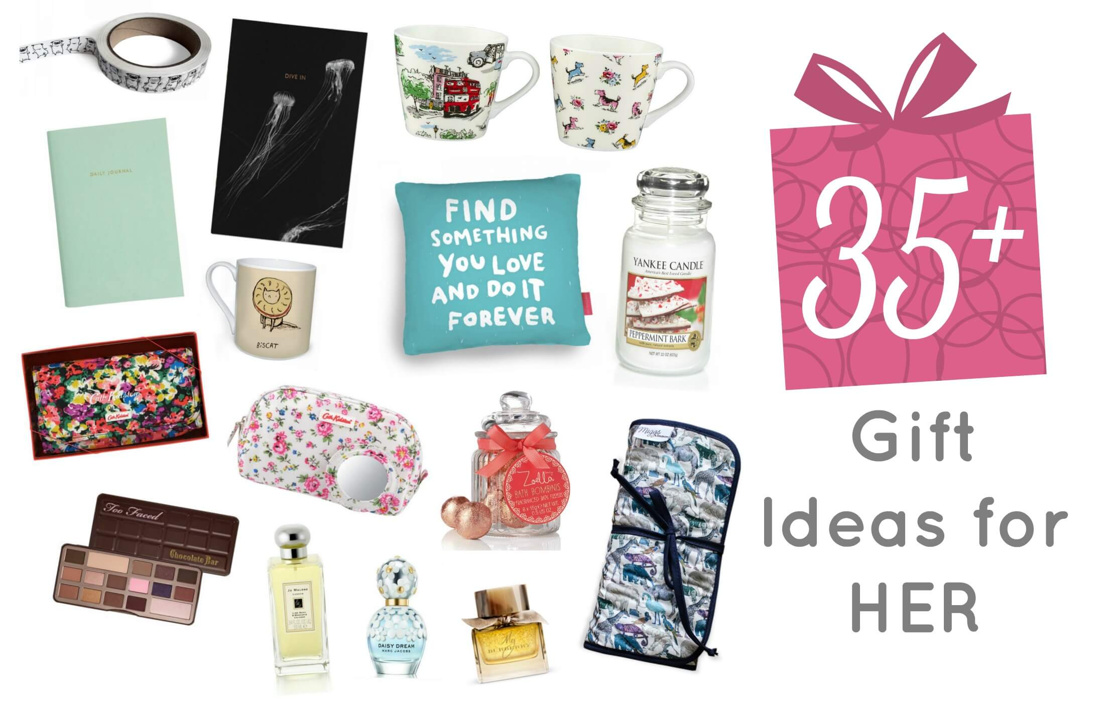 Christmas Present Ideas for Her - perfect for all student budgets ...