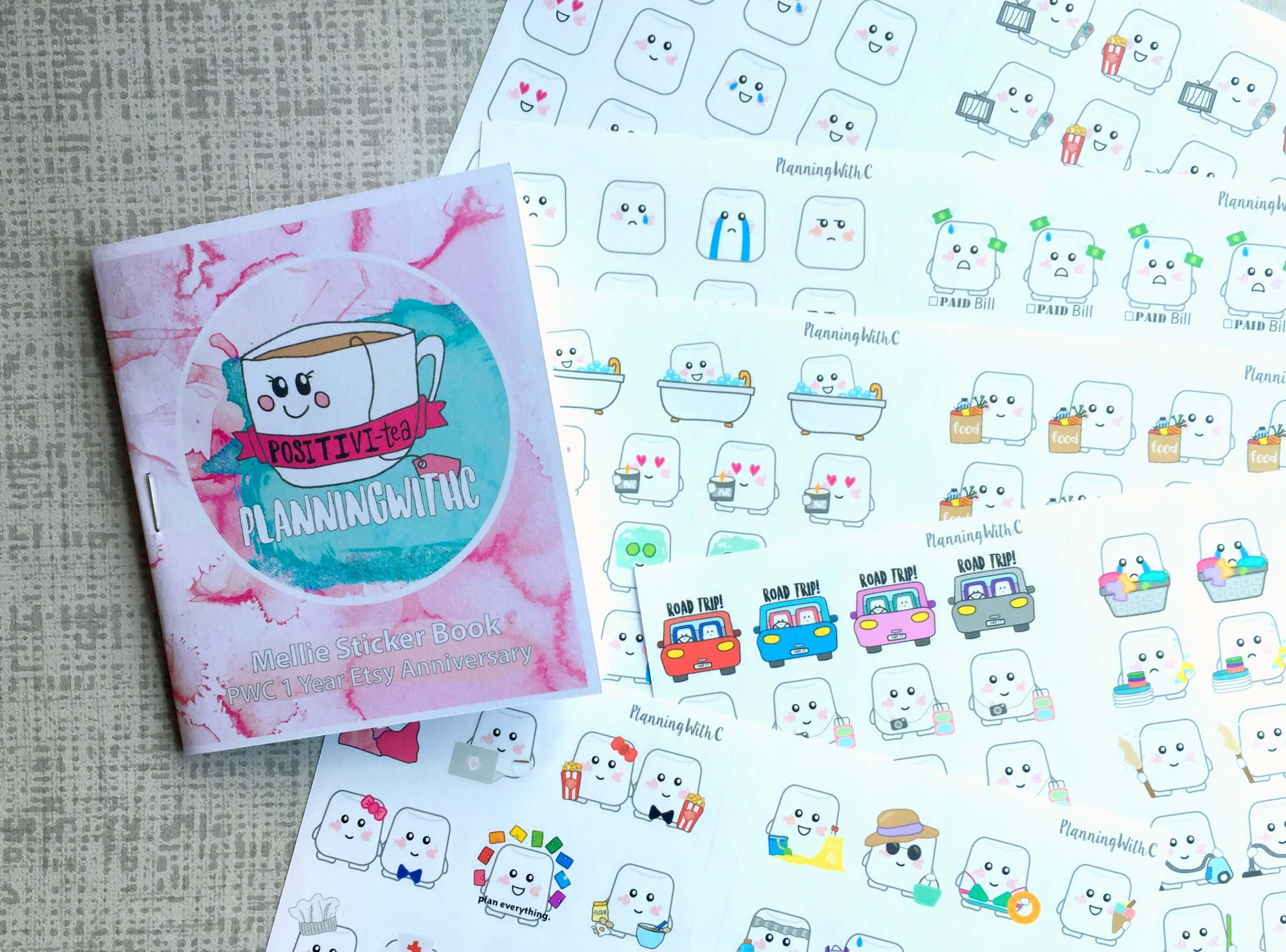 Planner Stickers // PlanningWithC