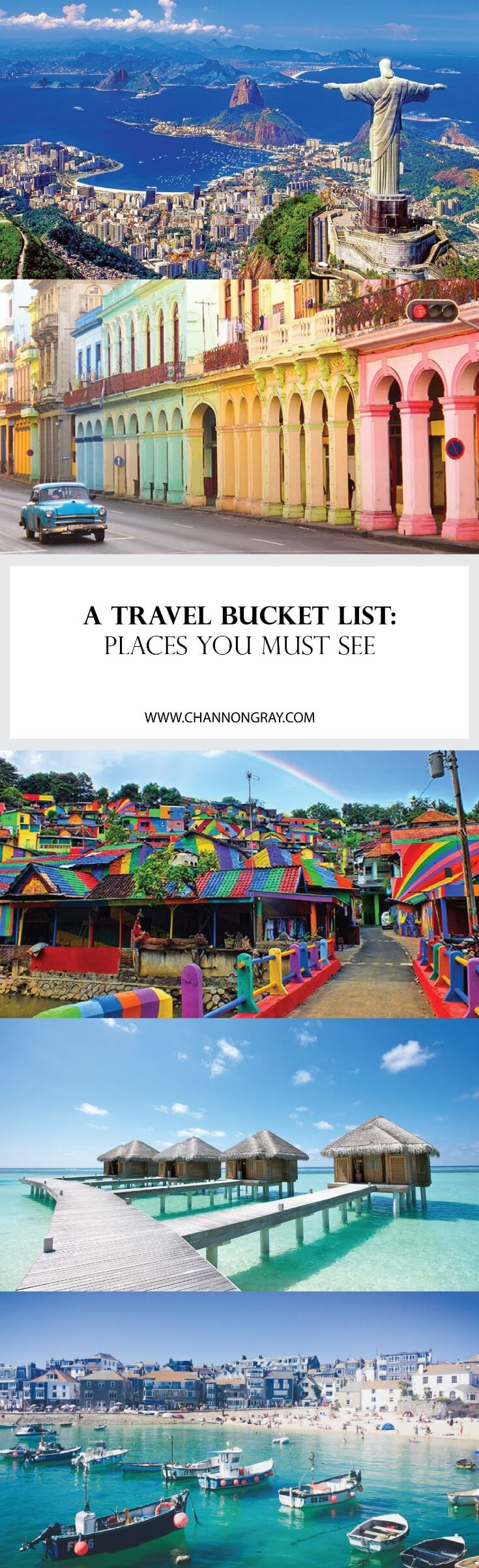 Travel Bucket List 15 Must See Places Countries Around The World