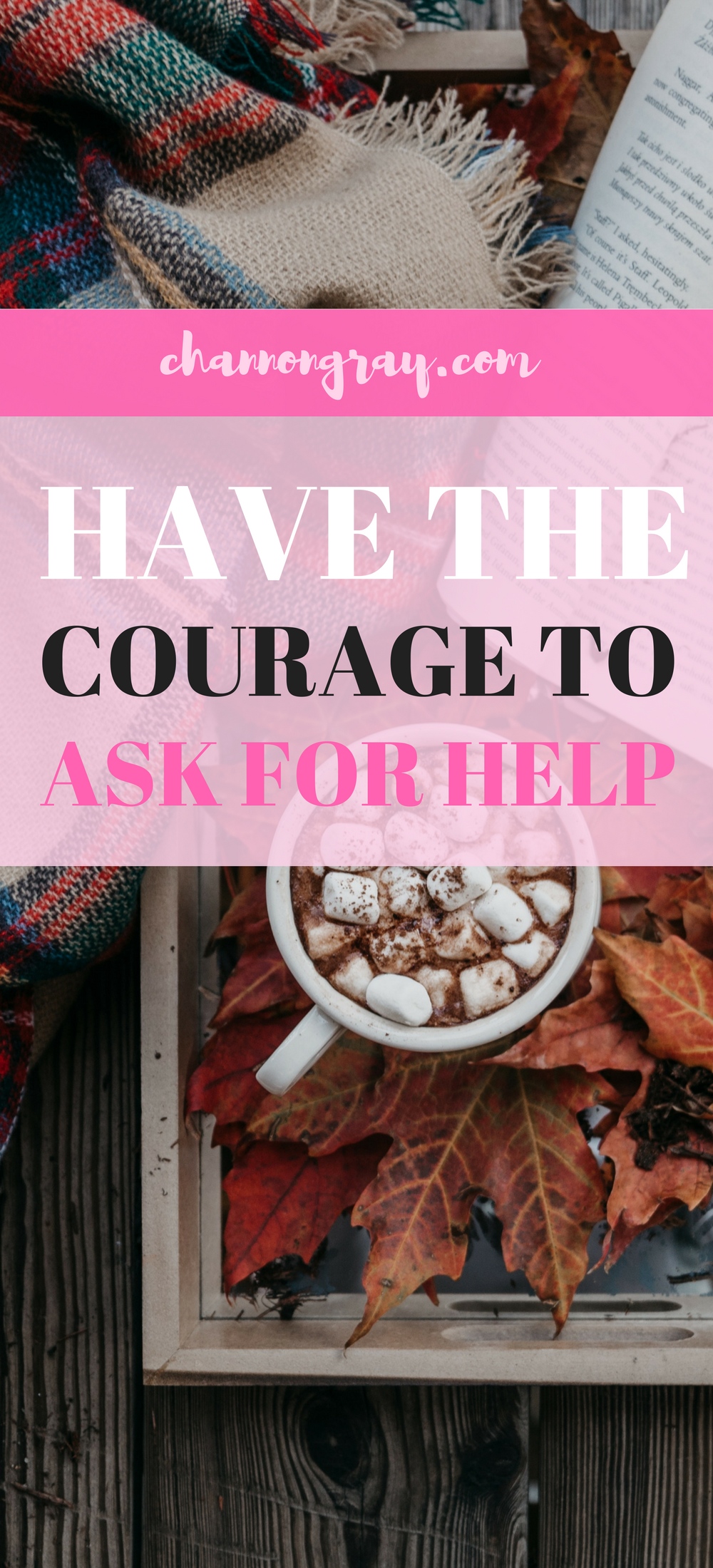 Having the courage to ask for help can be difficult at times. Being a student is not easy but asking for help can improve one's experiences. University can be a difficult time but through talking to others, reaching out and speaking up you'll find it does get better // heythereChannon