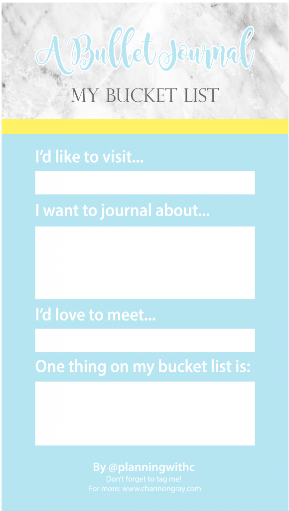 Bullet Journal Inspired Facebook and Instagram Story Templates ...