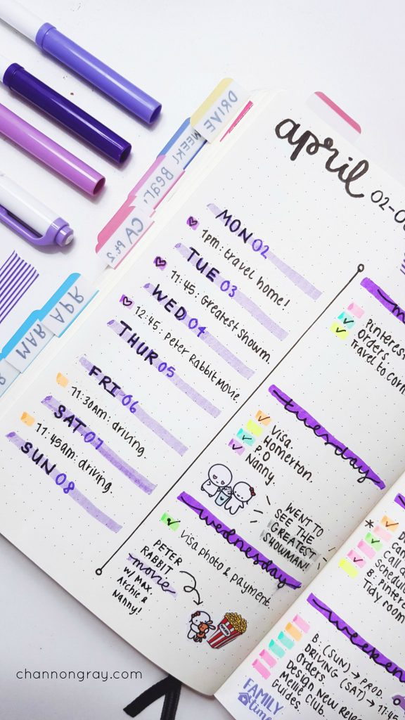 10 Of The Most Awesome Bullet Journal Stationery Supplies - #NatStatWeek - Channon Gray